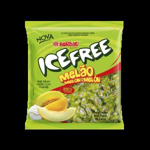 Bala Icefree Melão Berbau 250G