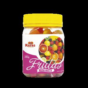 Bala Pote Frutas Maras 240G