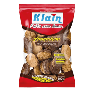 Biscoito Amendoim Chocolate Klain 300G