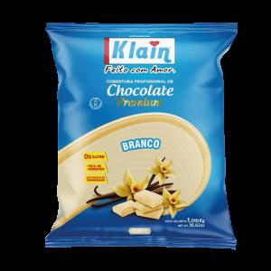 Cobertura De Chocolate Branco Klain 1KG