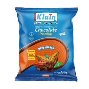 Cobertura De Chocolate Meio Amargo Klain 1KG