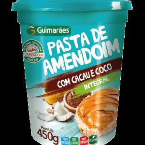 Pasta De Amendoim Com Coco Guimarãe 500G