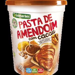 Pasta De Amendoim Com Cacau Guimarães 450G