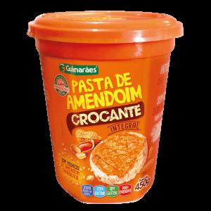 Pasta De Amendoim Crocante Guimarães 450G