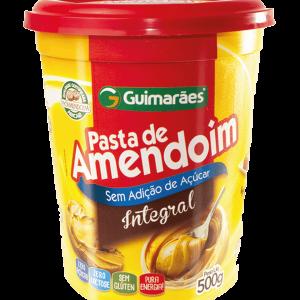 Pasta De Amendoim Integral Guimarães 500G