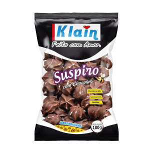 Suspiro Com Chocolate Klain 180G