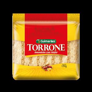 Torrone De Amendoim Com Wafer Guimarães 150G